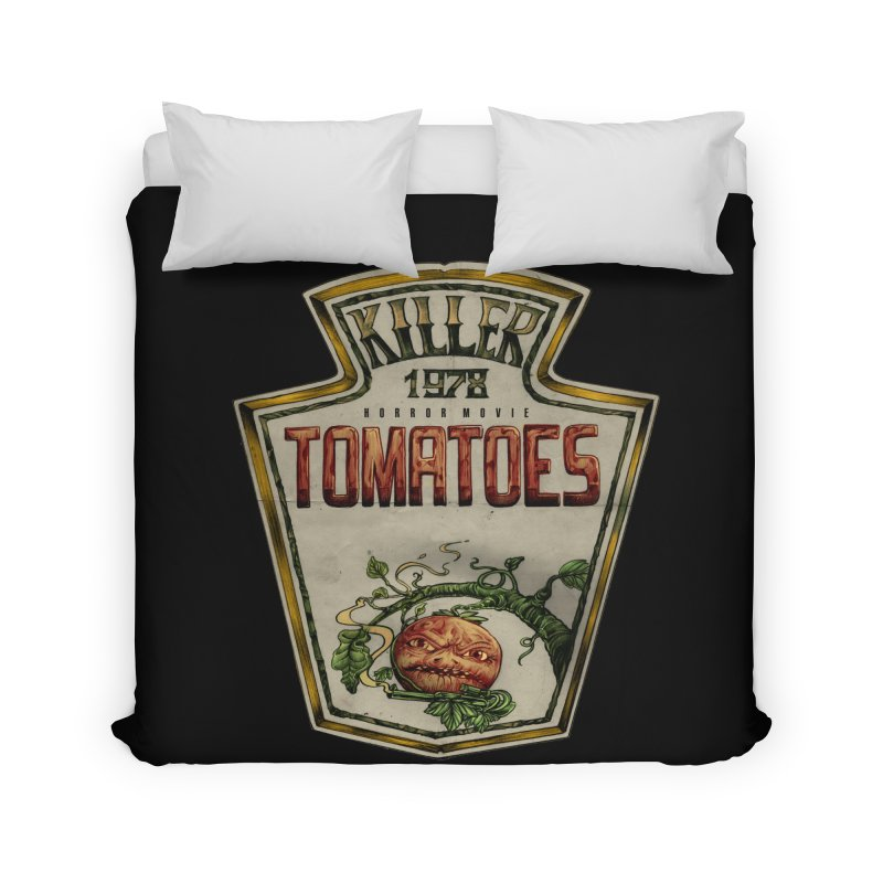 KILLER TOMATOES  Home Duvet by T.JEF