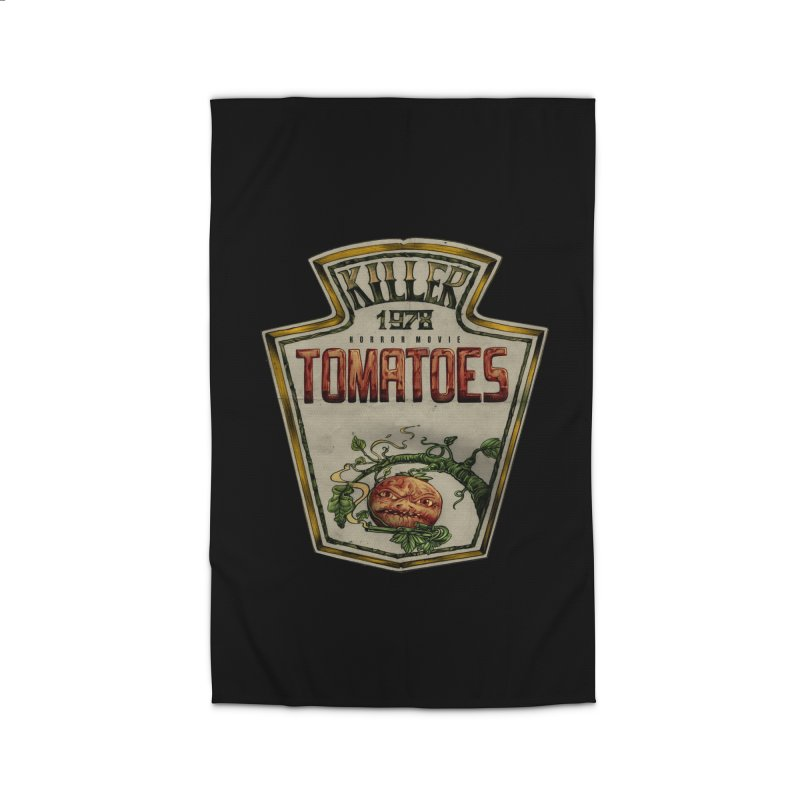 KILLER TOMATOES  Home Rug by T.JEF
