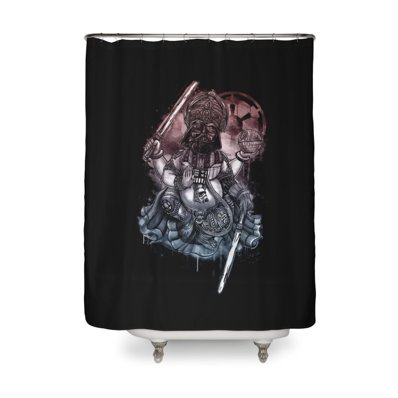 VADER/GANESHA  Home Shower Curtain by T.JEF