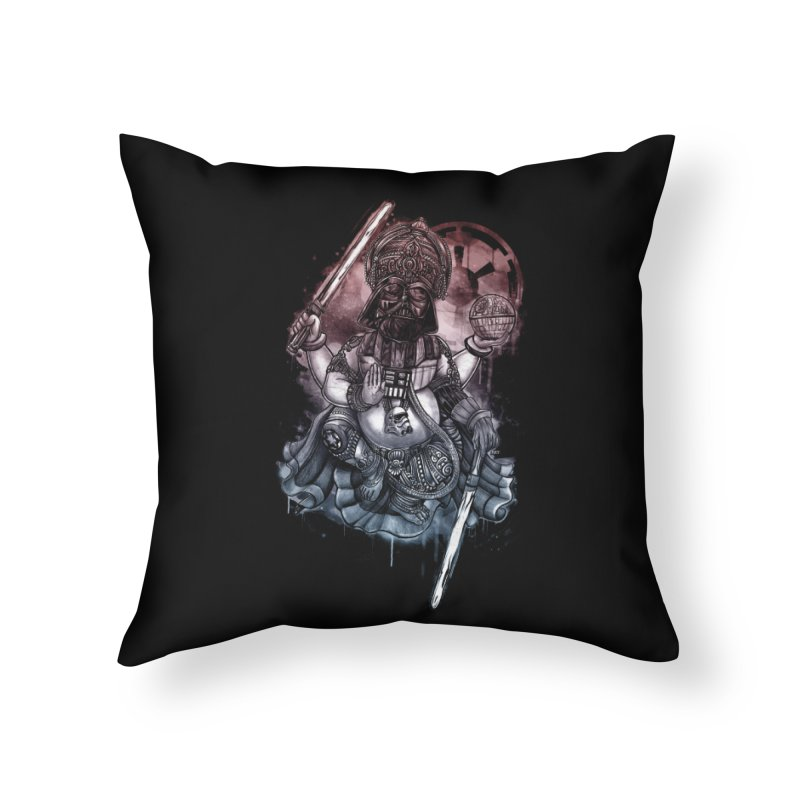 VADER/GANESHA  Home Throw Pillow by T.JEF