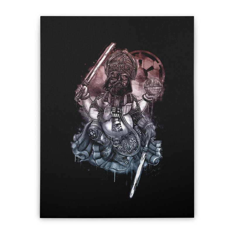 VADER/GANESHA  Home Stretched Canvas by T.JEF