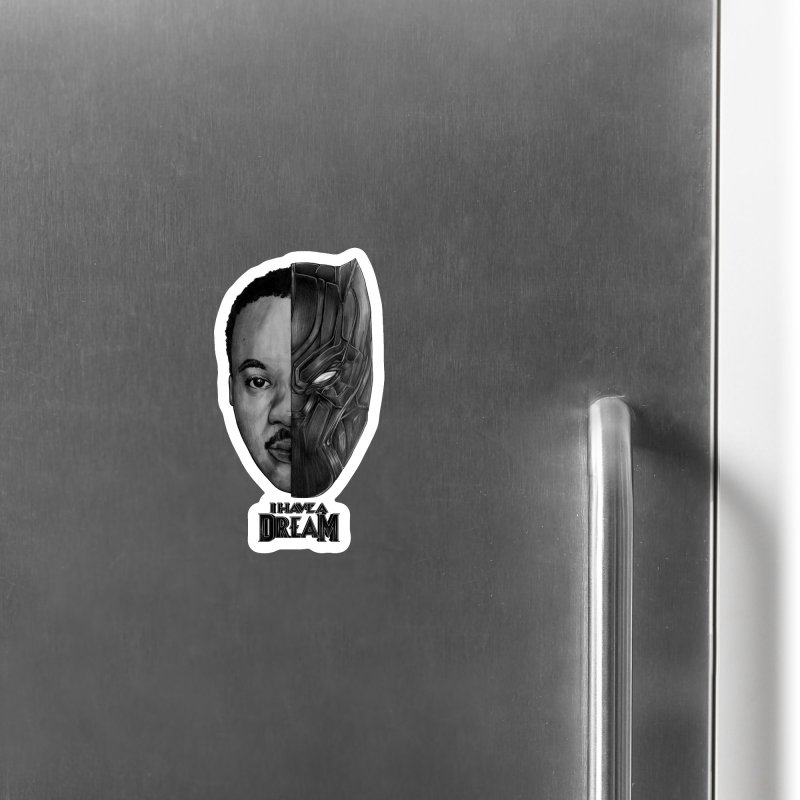 Black Lives Matter Accessories Magnet by T.JEF