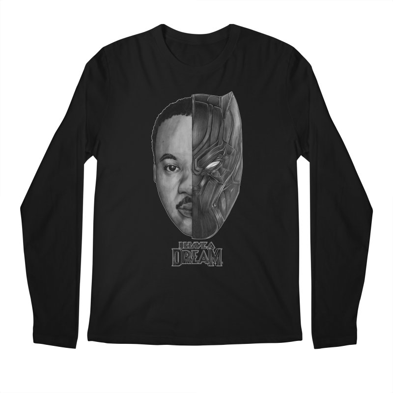 Black Lives Matter Men's Longsleeve T-Shirt by T.JEF