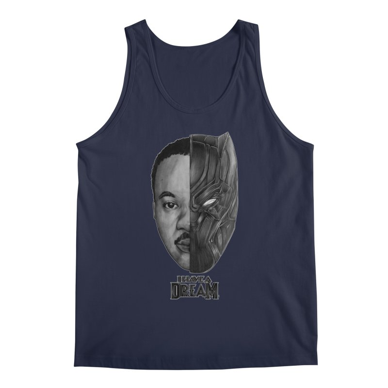Black Lives Matter Men's Tank by T.JEF