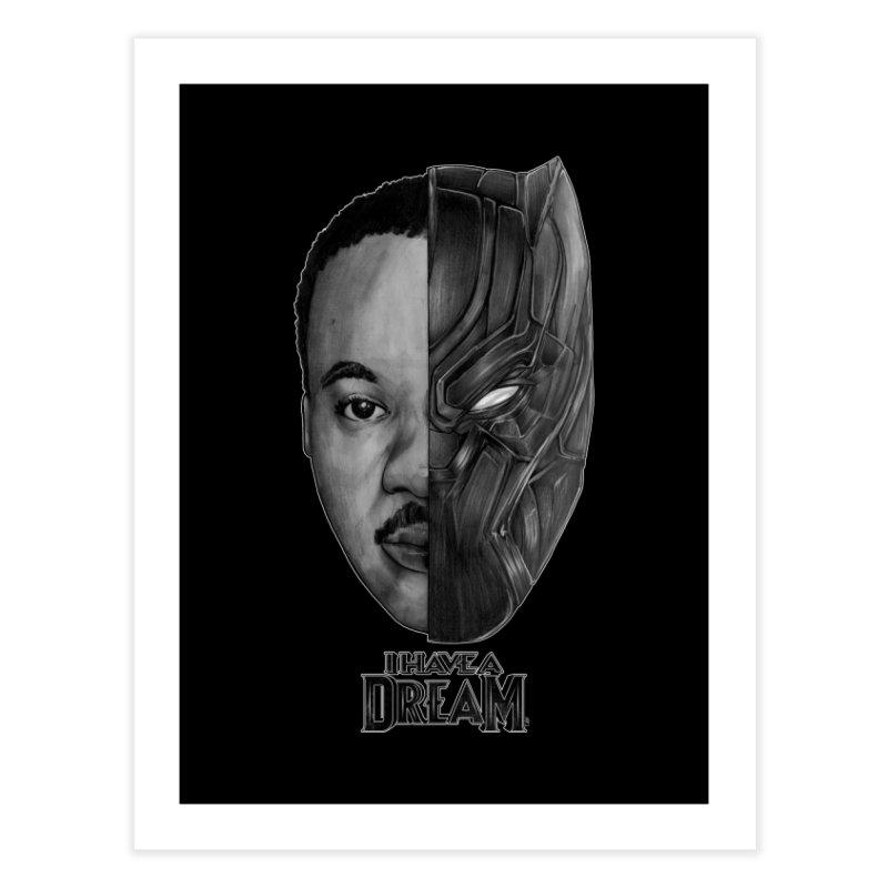 Black Lives Matter Home Fine Art Print by T.JEF
