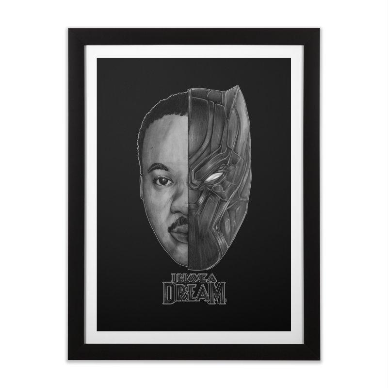 Black Lives Matter Home Framed Fine Art Print by T.JEF