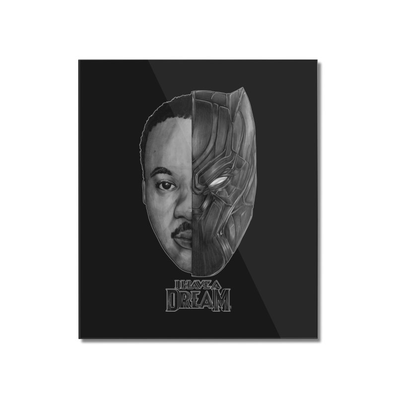 Black Lives Matter Home Mounted Acrylic Print by T.JEF