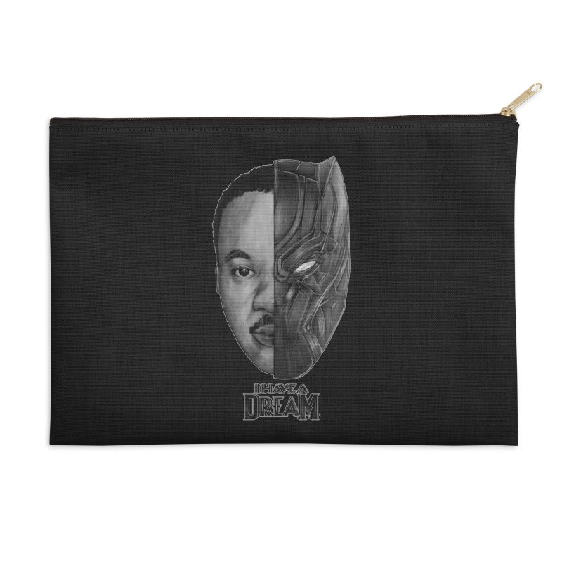 Black Lives Matter Accessories Zip Pouch by T.JEF