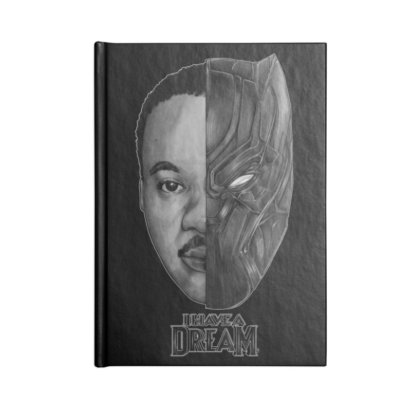 Black Lives Matter Accessories Notebook by T.JEF