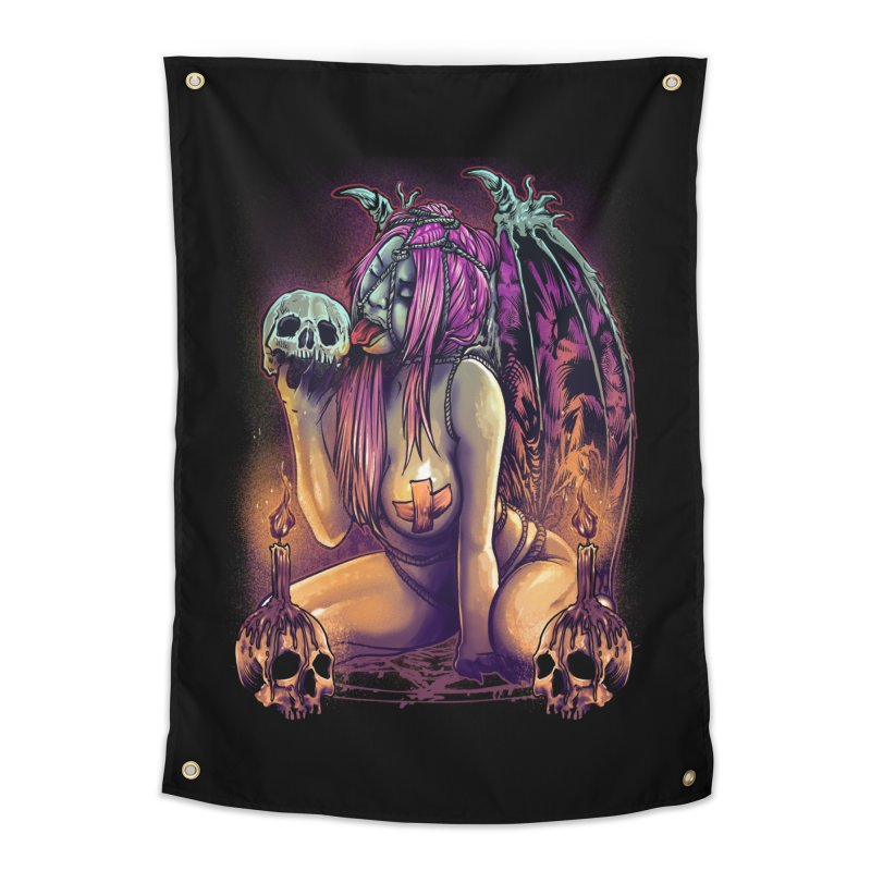 HELLLOVE Home Tapestry by T.JEF