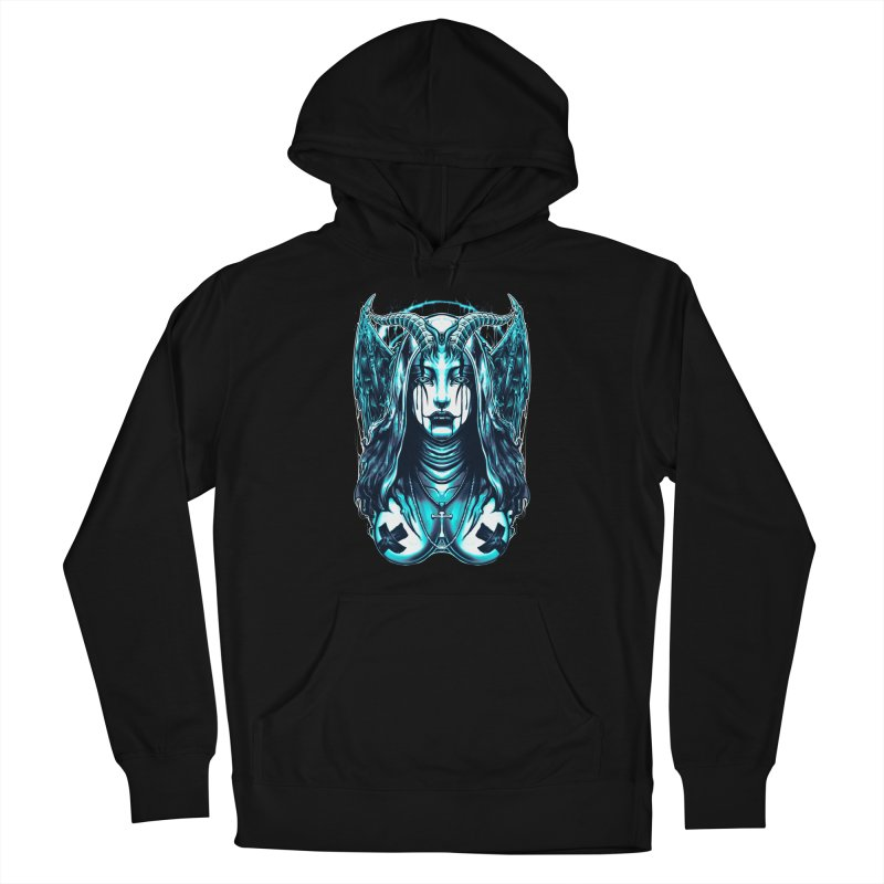 DARK NUN Women's Pullover Hoody by T.JEF