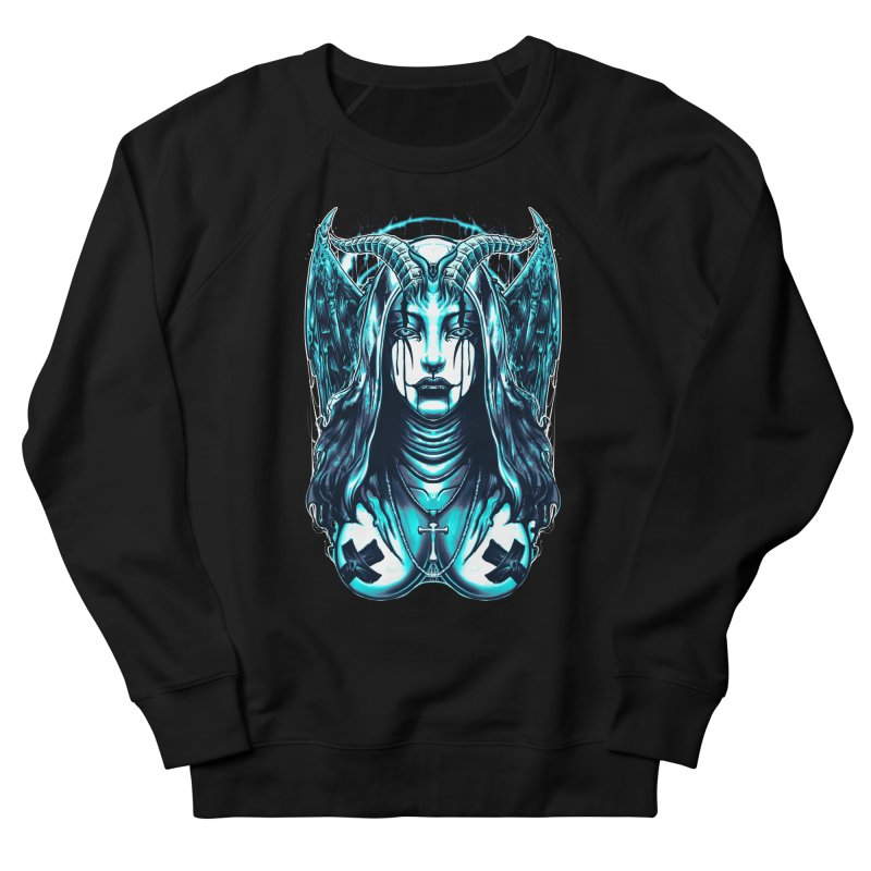 DARK NUN Men's Sweatshirt by T.JEF