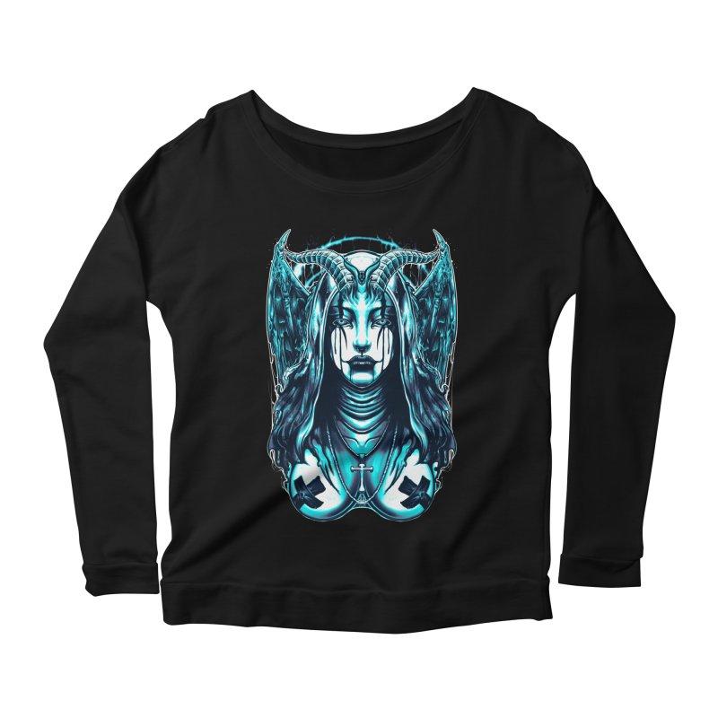 DARK NUN Women's Longsleeve T-Shirt by T.JEF