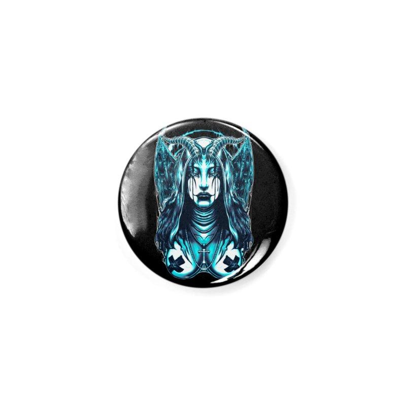 DARK NUN Accessories Button by T.JEF