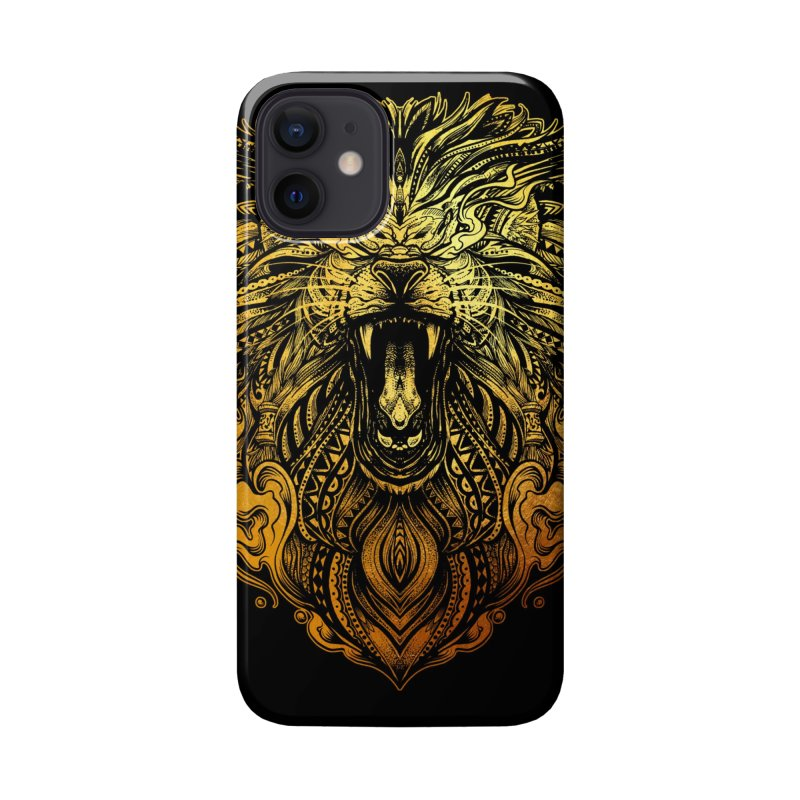 KING LION Accessories Phone Case by T.JEF