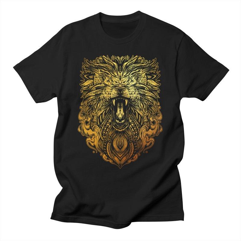 KING LION Men's T-Shirt by T.JEF