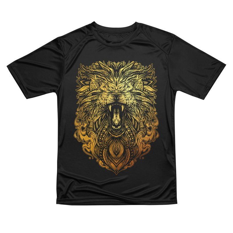 KING LION Men's T-Shirt by T.JEF
