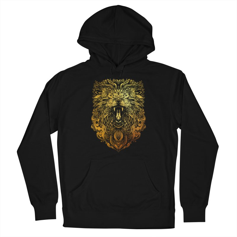 KING LION Men's Pullover Hoody by T.JEF