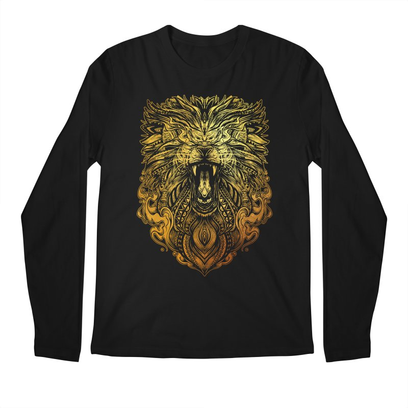 KING LION Men's Longsleeve T-Shirt by T.JEF