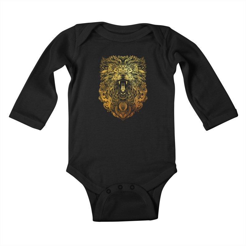 KING LION Kids Baby Longsleeve Bodysuit by T.JEF