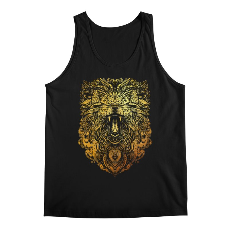 KING LION Men's Tank by T.JEF