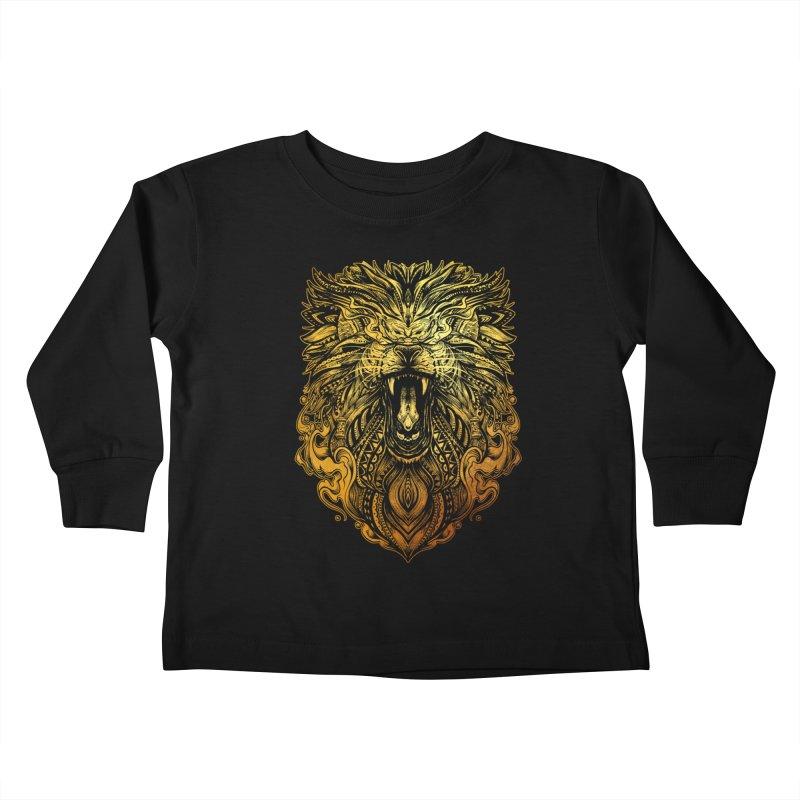 KING LION Kids Toddler Longsleeve T-Shirt by T.JEF