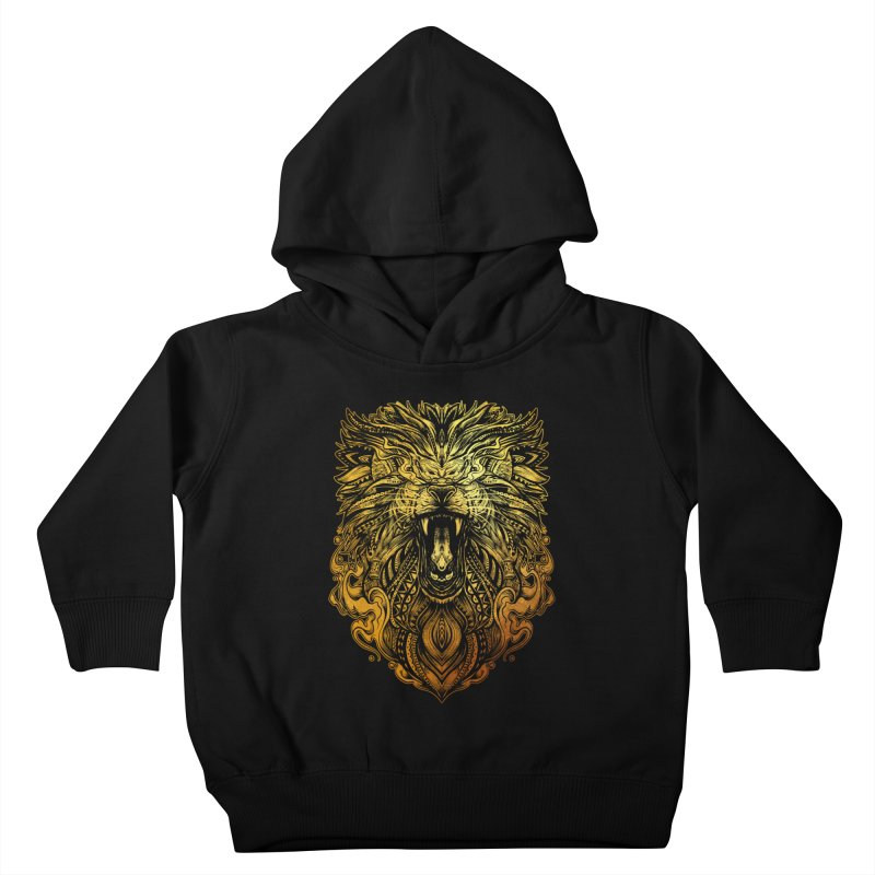 KING LION Kids Toddler Pullover Hoody by T.JEF