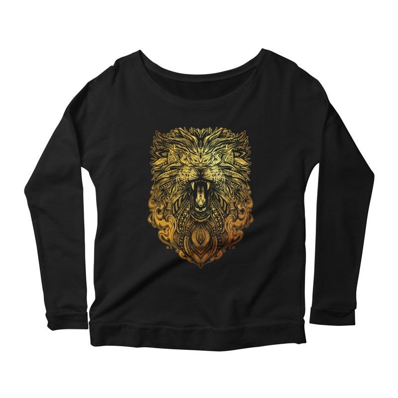KING LION Women's Longsleeve T-Shirt by T.JEF