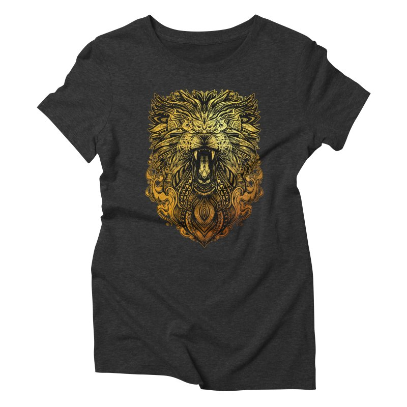 KING LION Women's T-Shirt by T.JEF
