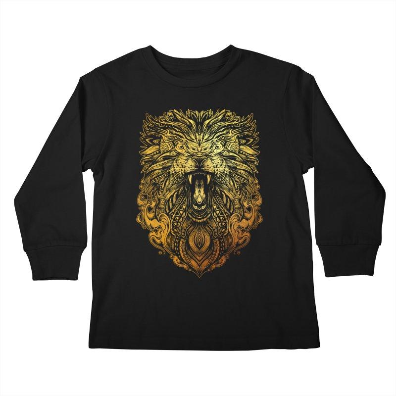 KING LION Kids Longsleeve T-Shirt by T.JEF