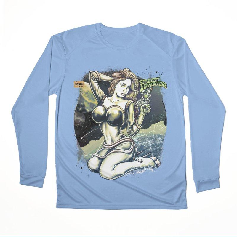SPACE Adventure Men's Longsleeve T-Shirt by T.JEF