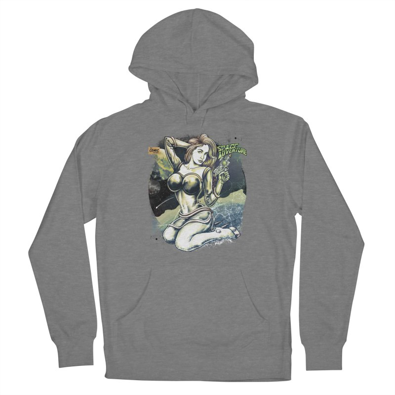 SPACE Adventure Women's Pullover Hoody by T.JEF