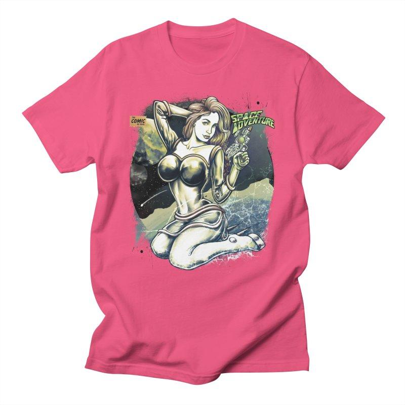 SPACE Adventure Men's T-Shirt by T.JEF