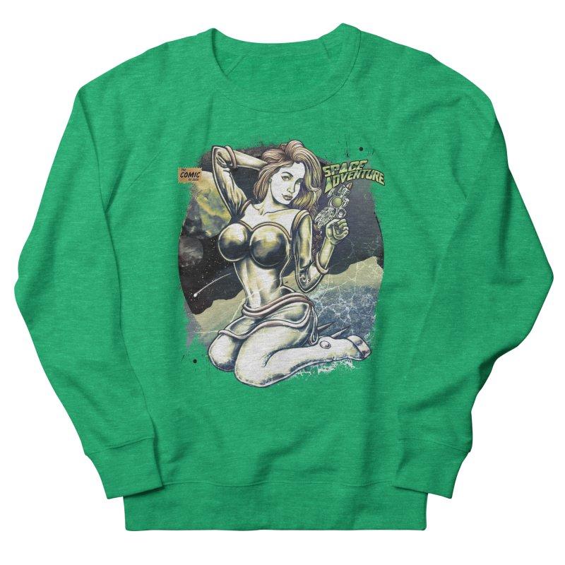 SPACE Adventure Women's Sweatshirt by T.JEF