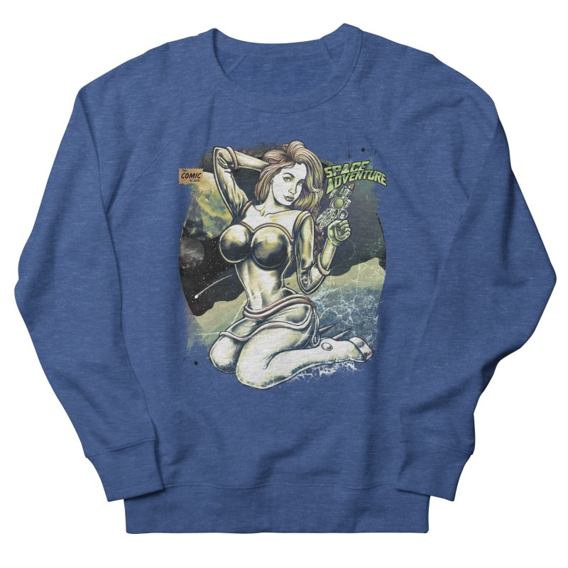SPACE Adventure Men's Sweatshirt by T.JEF