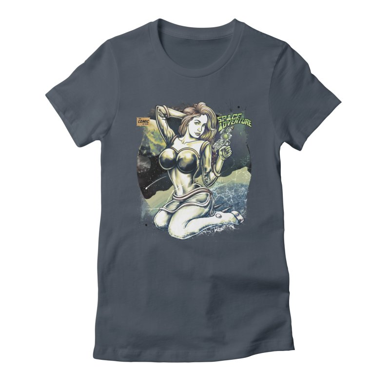 SPACE Adventure Women's T-Shirt by T.JEF