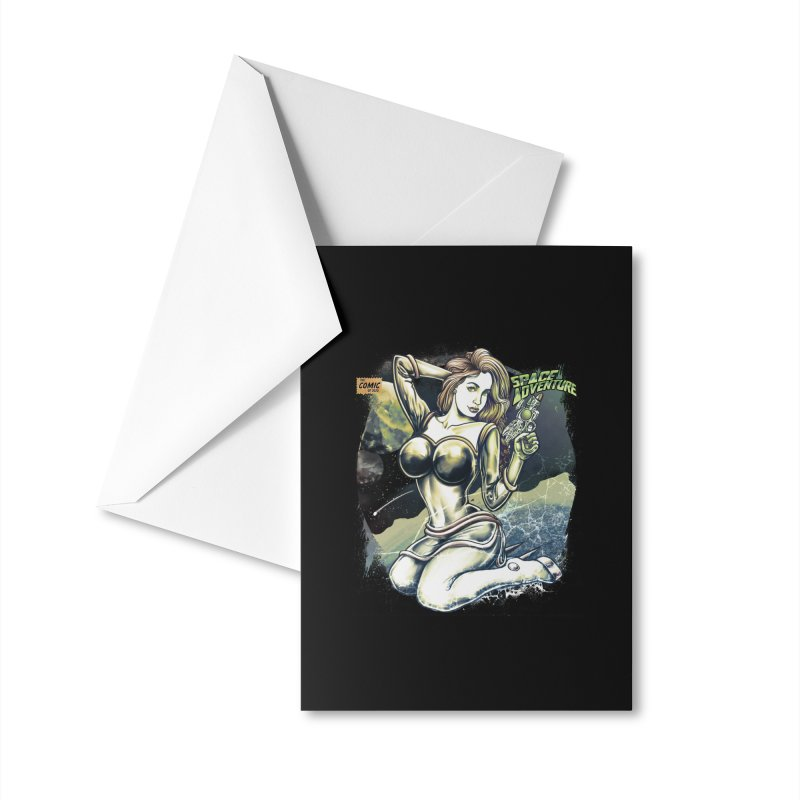 SPACE Adventure Accessories Greeting Card by T.JEF