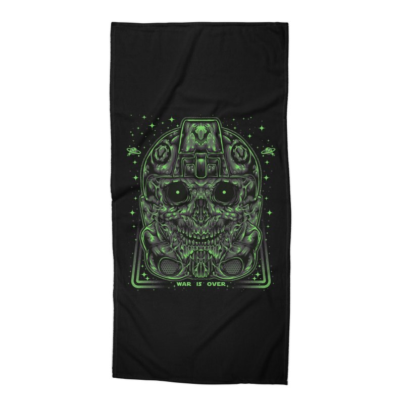 WAR IS OVER Accessories Beach Towel by T.JEF