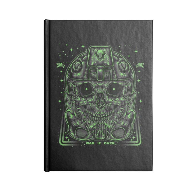 WAR IS OVER Accessories Notebook by T.JEF