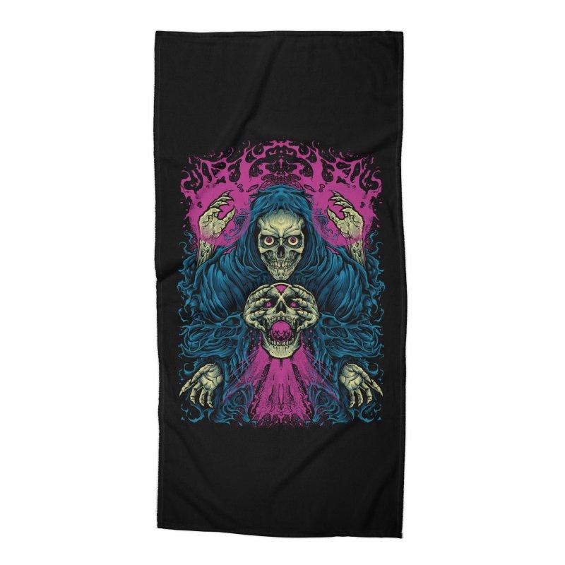 Magic Necron Accessories Beach Towel by T.JEF