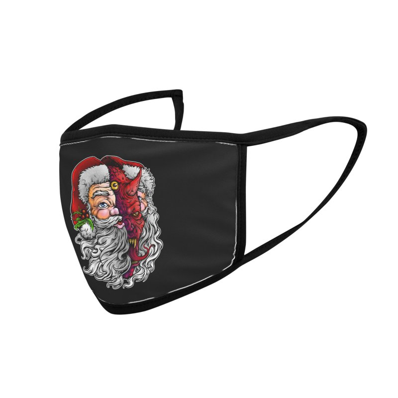 Satan Claus Accessories Face Mask by T.JEF