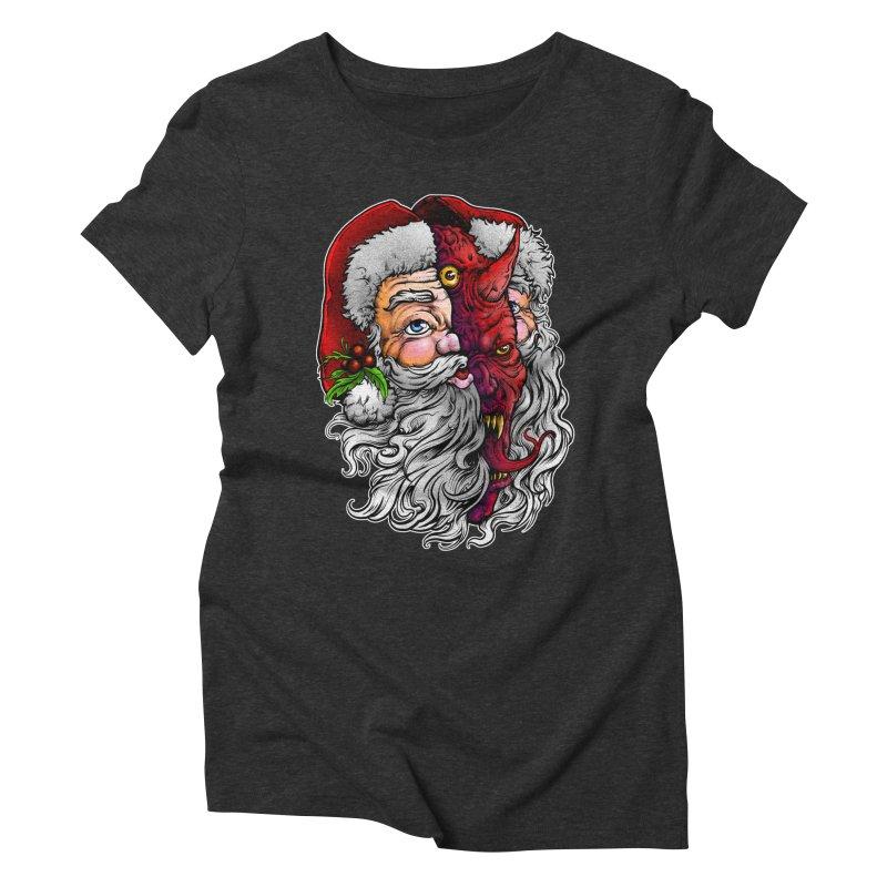 Satan Claus Women's T-Shirt by T.JEF