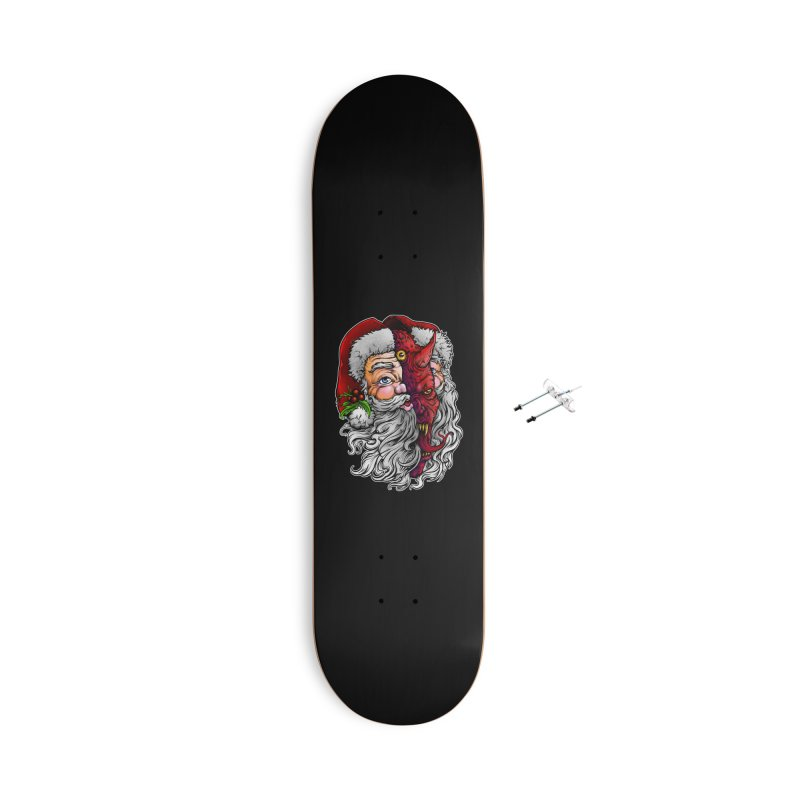 Satan Claus Accessories Skateboard by T.JEF