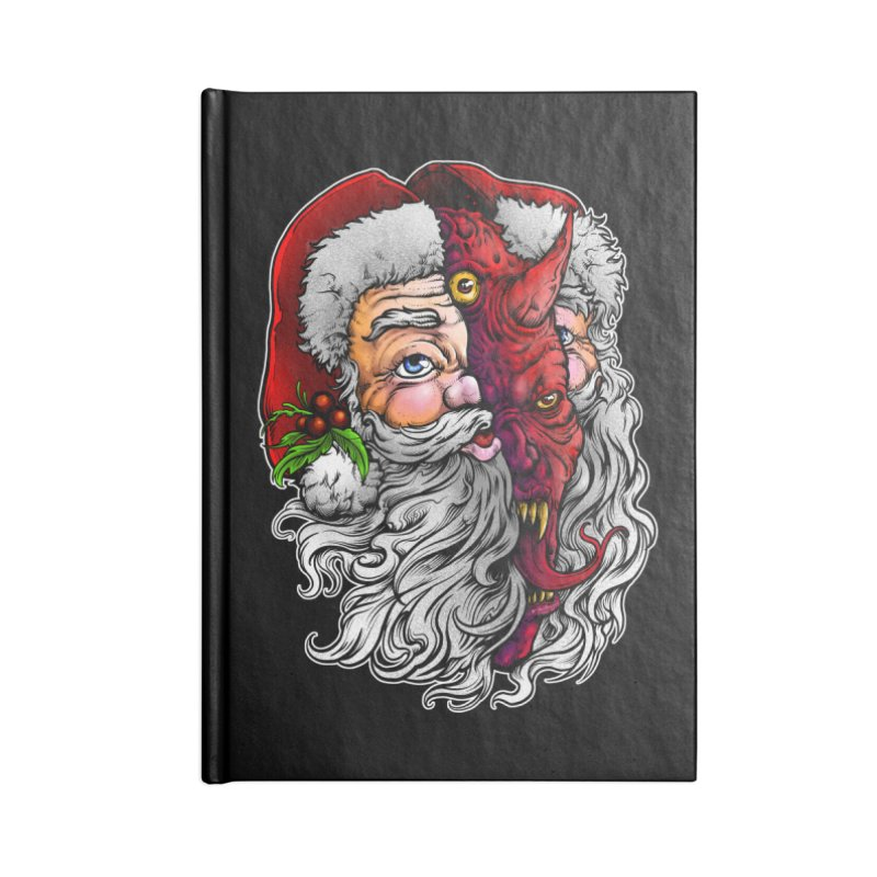 Satan Claus Accessories Notebook by T.JEF
