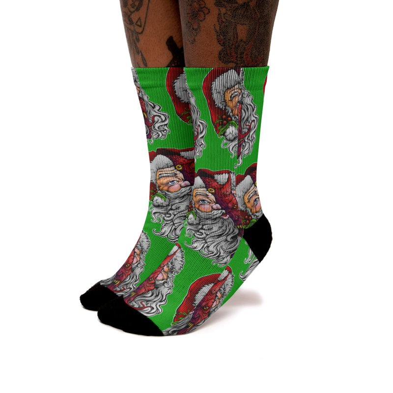 Satan Claus Women's Socks by T.JEF