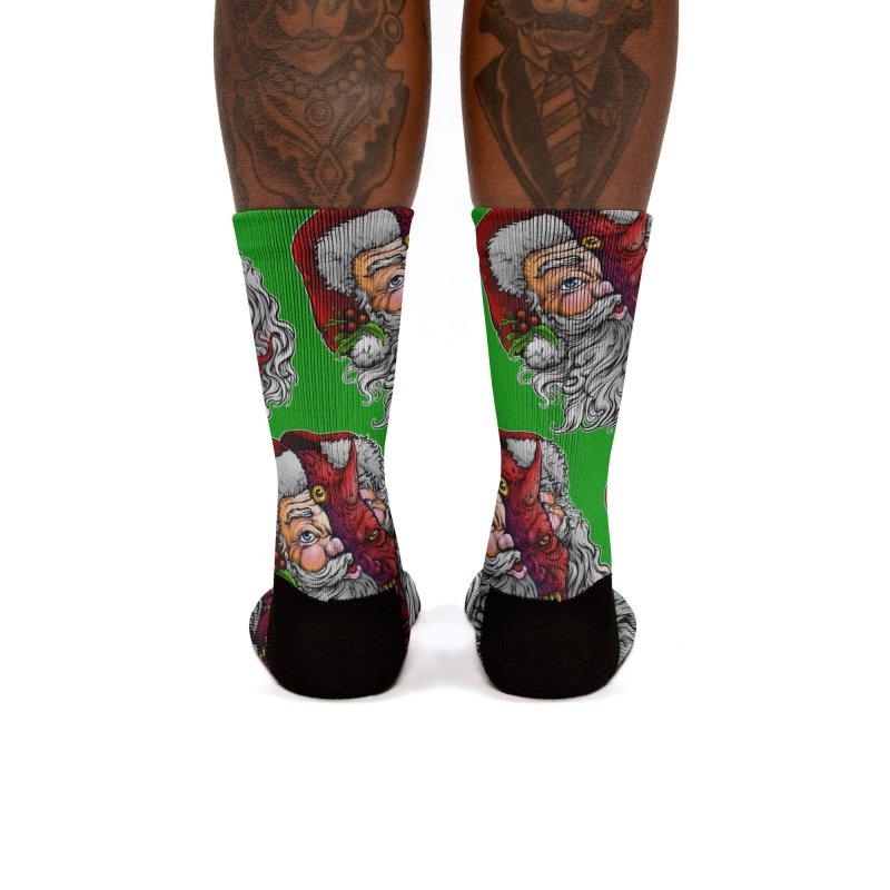 Satan Claus Women's Socks by T.JEF