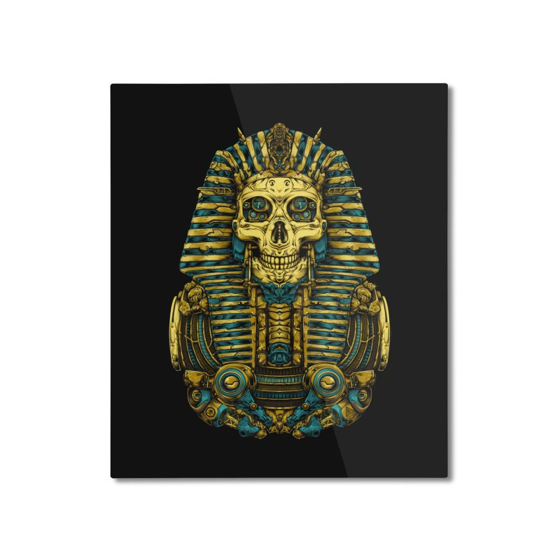 Egypt Gods Home Mounted Aluminum Print by T.JEF