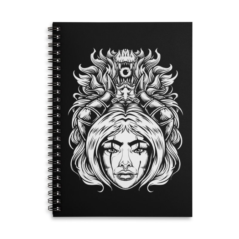 STORM DEMON Accessories Notebook by T.JEF