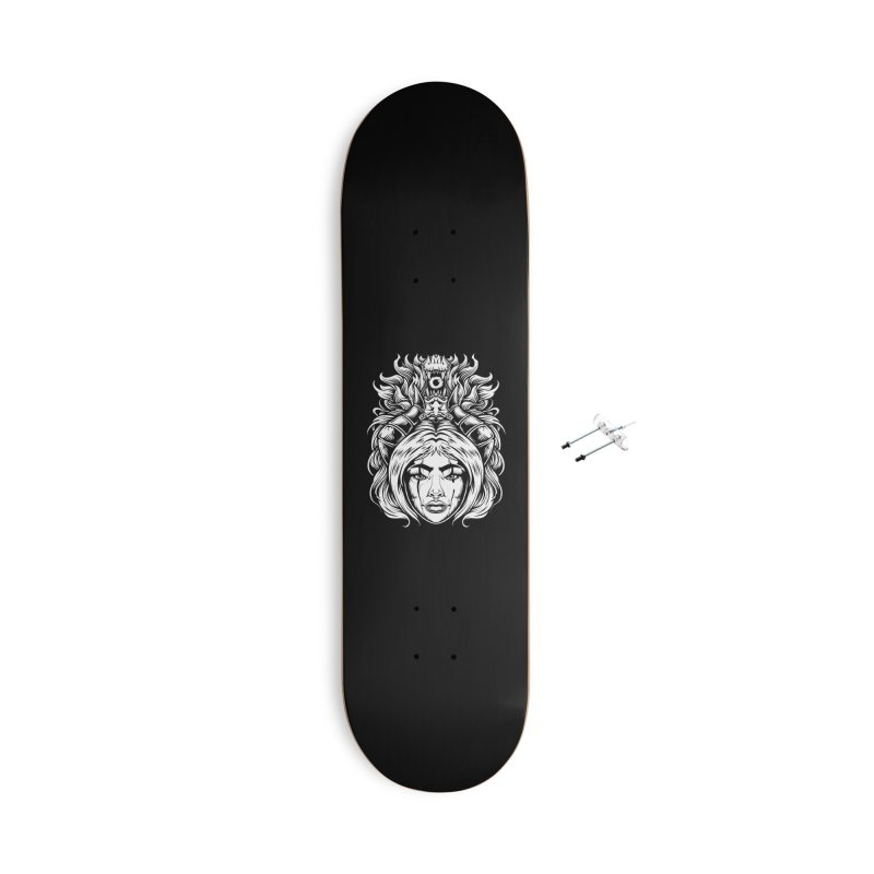 STORM DEMON Accessories Skateboard by T.JEF
