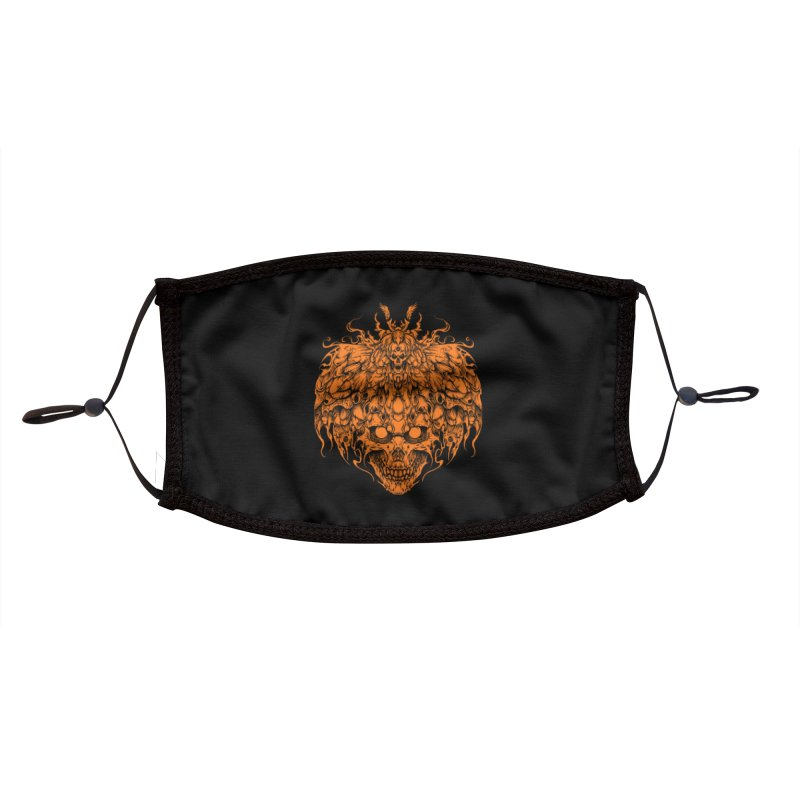 skull tattoo Accessories Face Mask by T.JEF